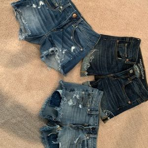 3 Pair of American Eagle Shorts - Size 2